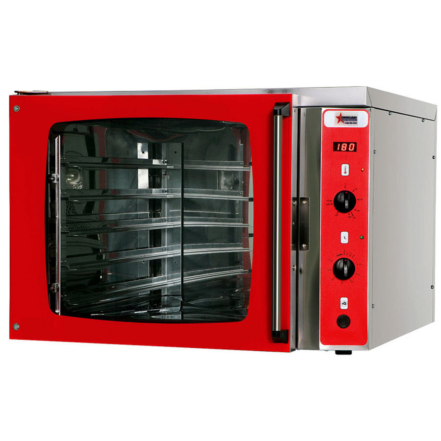 Brado Full Size Countertop Convection Oven with 5 Full Size Trays ...