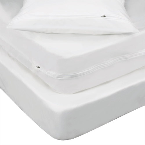 For Sale King Restonic Comfort Care Andover Plush Double Sided Mattress Set