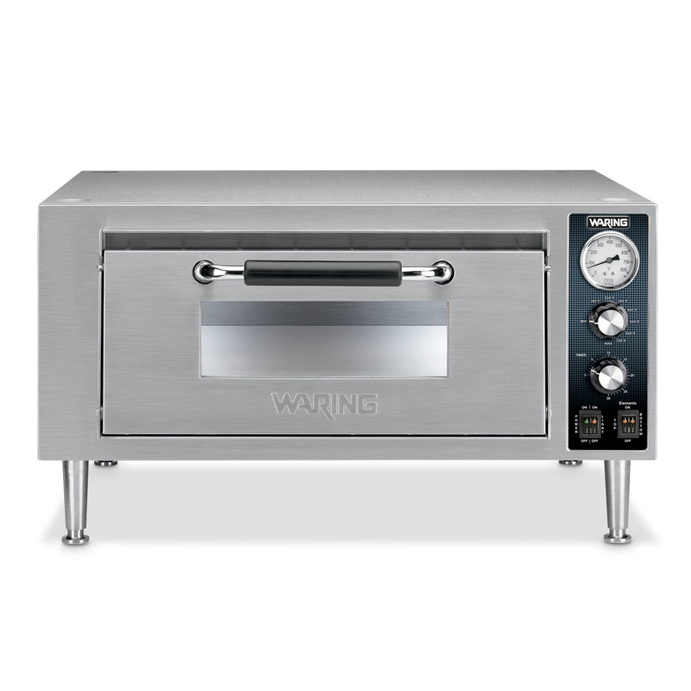 Fusion Commercial Countertop Pizza Oven : Waring WPO500 Single Deck Countertop Pizza Oven - 120V