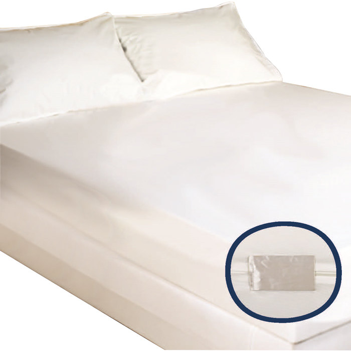hybrid zippered bed bug proof king mattress encasement