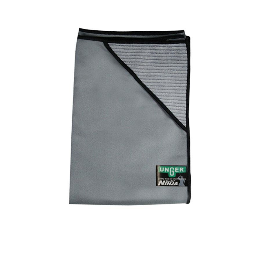 "Unger Ninja MicroWipe MN55U 22"" x 22"" Premium Microfiber Cleaning Cloth at Sears.com"