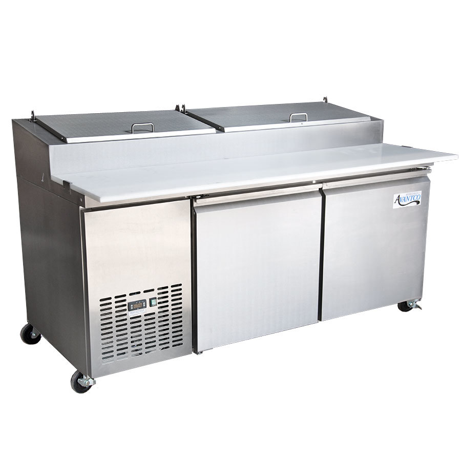Avantco PICL2 72 inch Refrigerated Pizza Prep Table