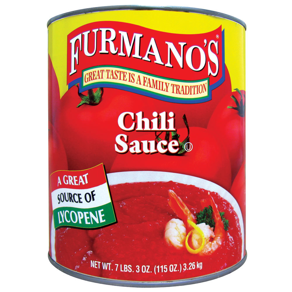 Furmano's #10 Can Chili Sauce - 6/Case