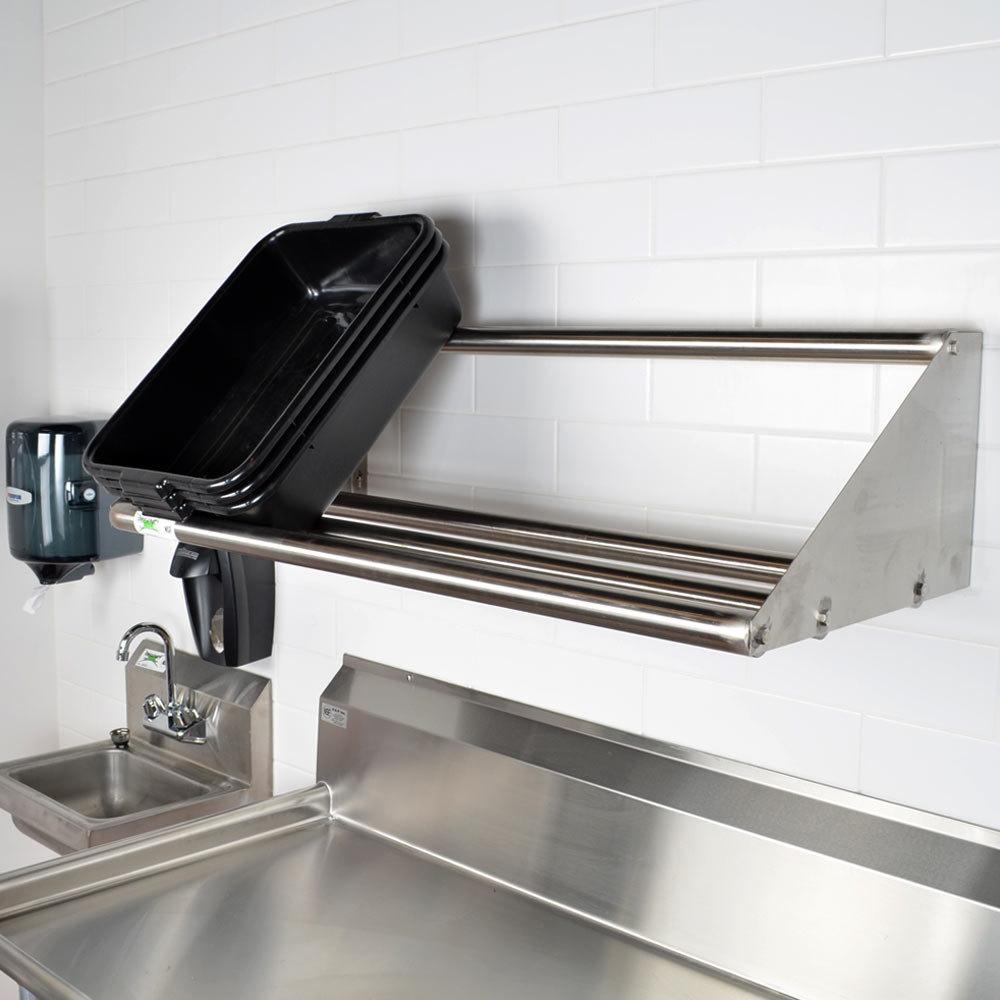 regency 42 wall mounted tubular rack shelf. Black Bedroom Furniture Sets. Home Design Ideas