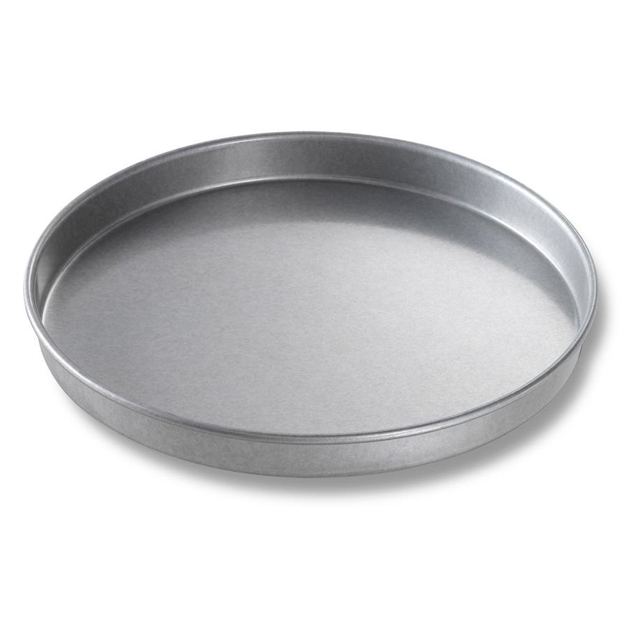 Chicago Metallic 41010 10 inch x 1 inch Aluminized Steel Round Cake Pan / Pizza Pan