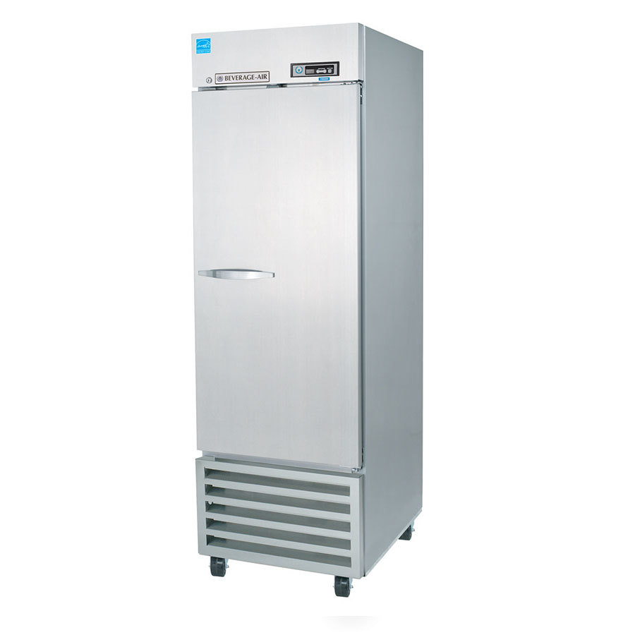 Beverage Air (Bev Air) KF24-1AS Solid Door Reach In Freezer - 23 cu. ft.