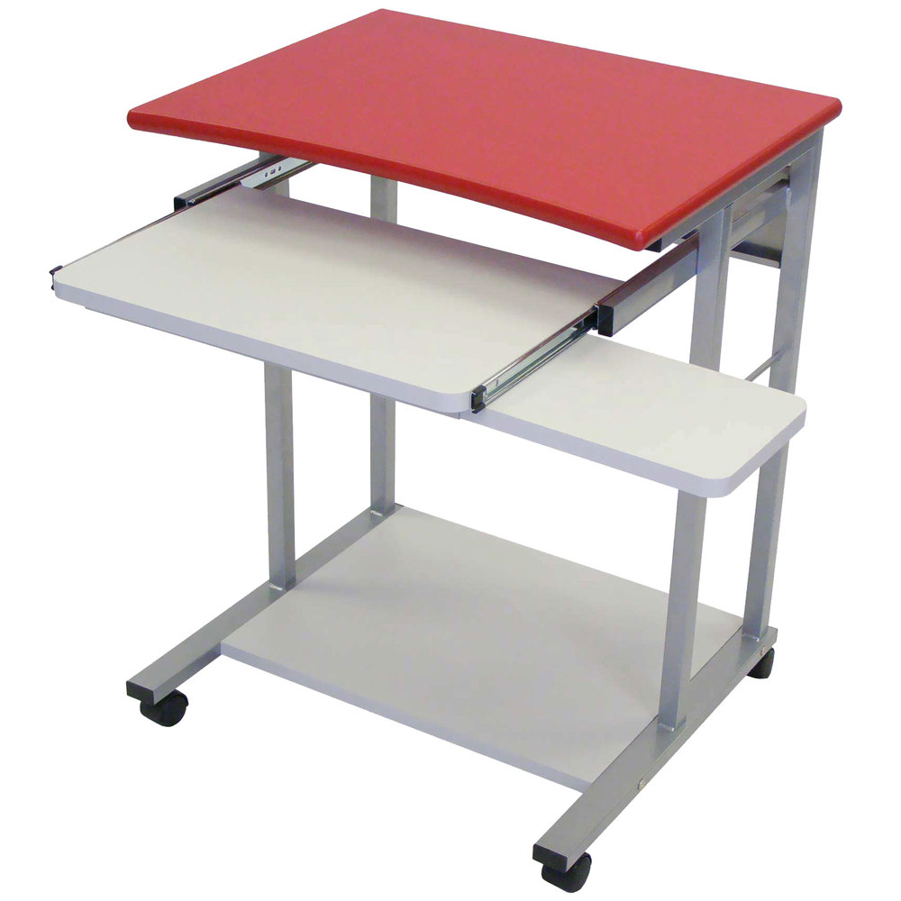 Luxor H Wilson Lct29 Mobile Computer Desk With Pullout