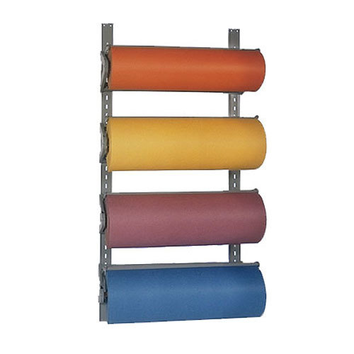 "Bulman T293-9 9"" Horizontal Four Paper Roll Wall Rack"