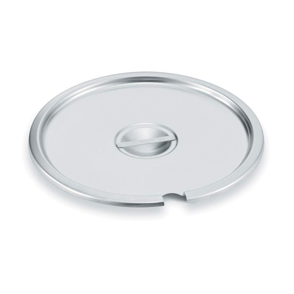7 Qt. Notched Stainless Steel Inset Cover