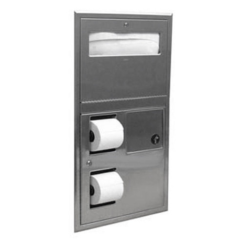Bobrick B 35745 Recessed Toilet Seat Cover And Toilet