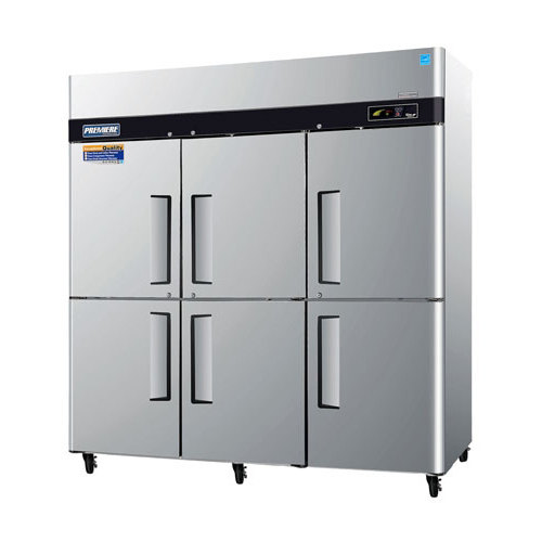 "Turbo Air Refrigeration Turbo Air PRO-77-6F 78"" Premiere Series Three Section Solid Half Door Reach in Freezer - 77 Cu. Ft. at Sears.com"