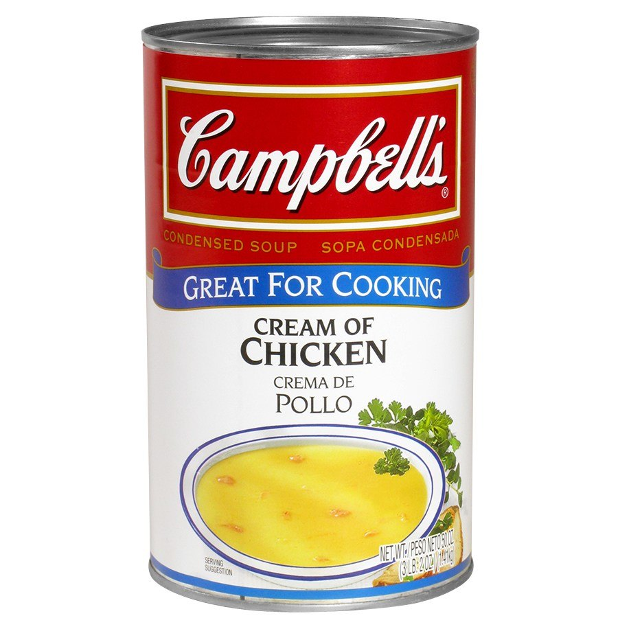 Campbells Cream Of Chicken Soup Condensed 50 Oz Can