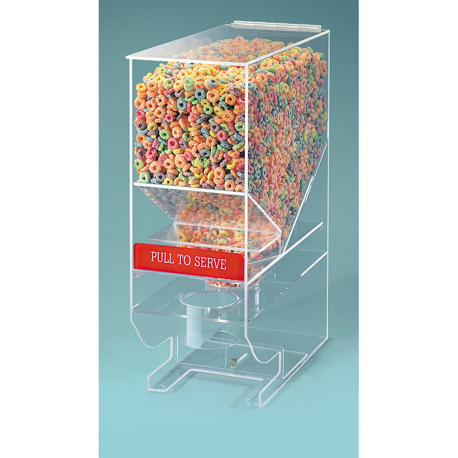 Cal Mil 642 Cereal Dispenser - Acrylic 900 Cubic Inch (13.4 qt.) Capacity at Sears.com
