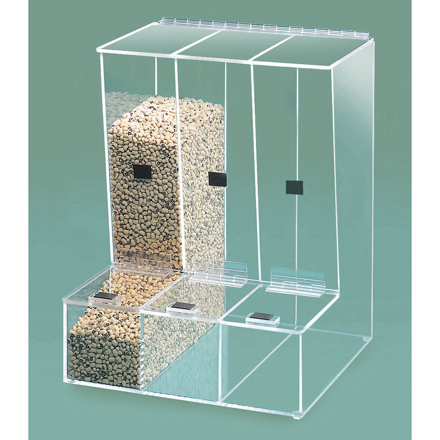 Cal Mil 946 Multi-Bin Bulk Food Dispenser 13 inch x 12 inch x 16 1/2 inch