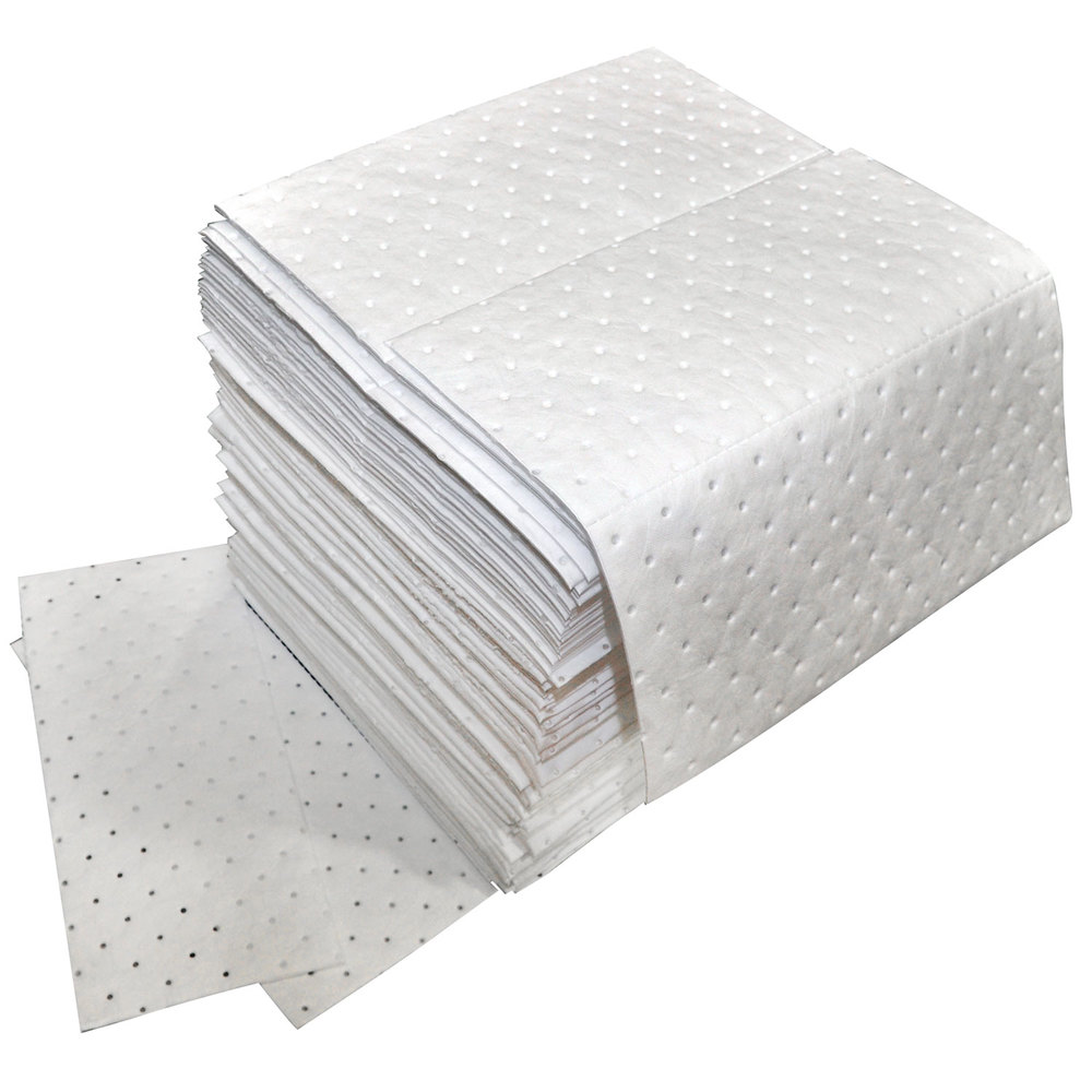 Spilfyter Z 75 Oil Only White Heavy Weight Absorbent Pad