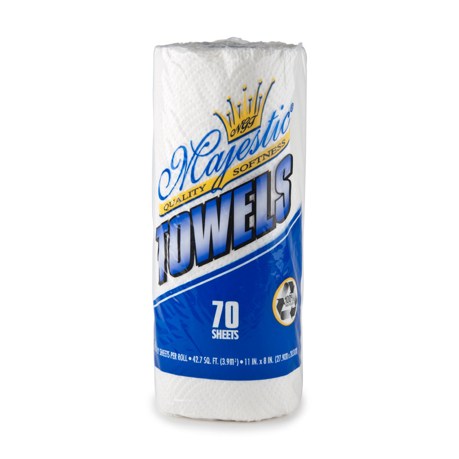 Paper Towels 2-Ply 30 Rolls/Case