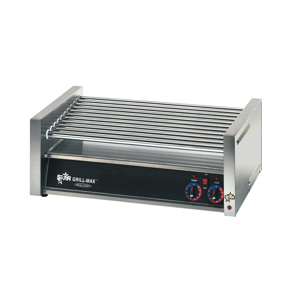Star 120 Volts Star 50C-CSA Grill-Max 50 Hot Dog Roller Grill with Chrome Rollers - Slanted (Canadian Use) at Sears.com