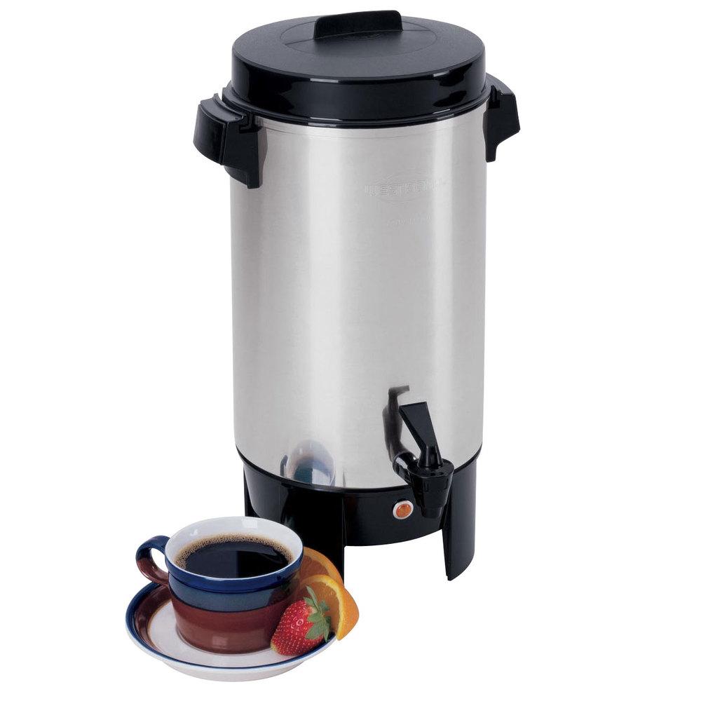 West Bend 58002 42 Cup Aluminum Coffee Urn
