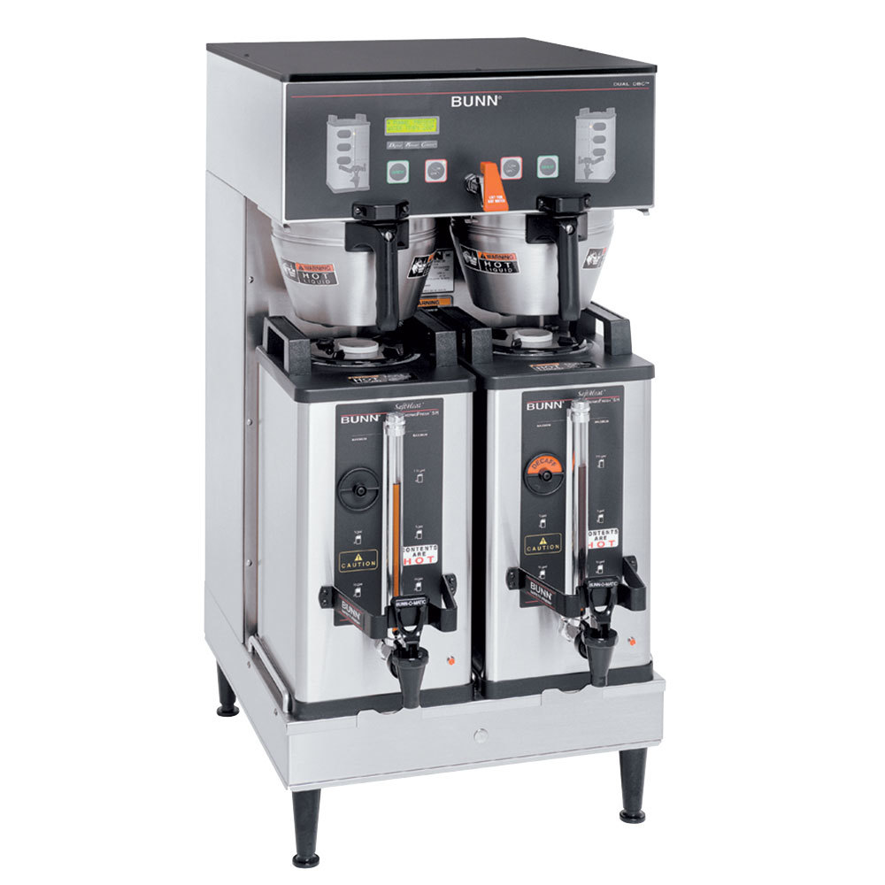 Bunn 33500.0042 BrewWISE Dual Soft Heat DBC Brewer with L