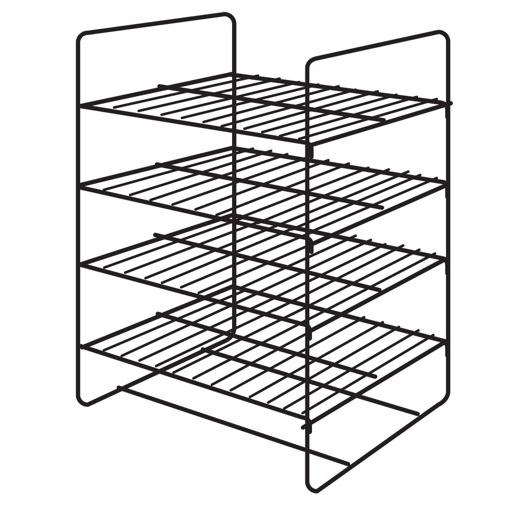 hatco fdw4smp 4 shelf general purpose rack for heated merchandisers wiring diagram hatco pizza warmer gandul 45 77 79 119  at crackthecode.co