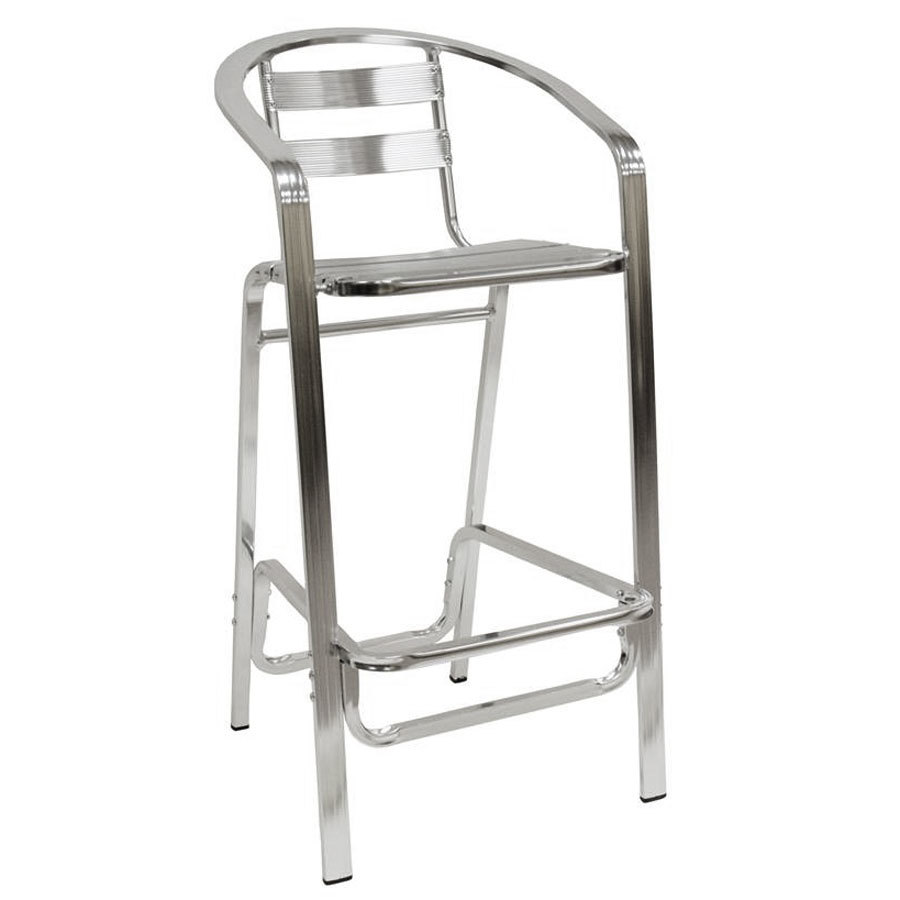 American Tables Amp Seating 55bs Aluminum Bar Stool Slat