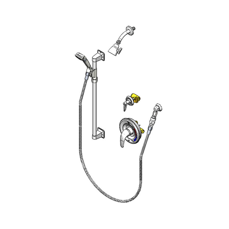 T Amp S B 3306 Vb Shower Package With Pressure Balancing
