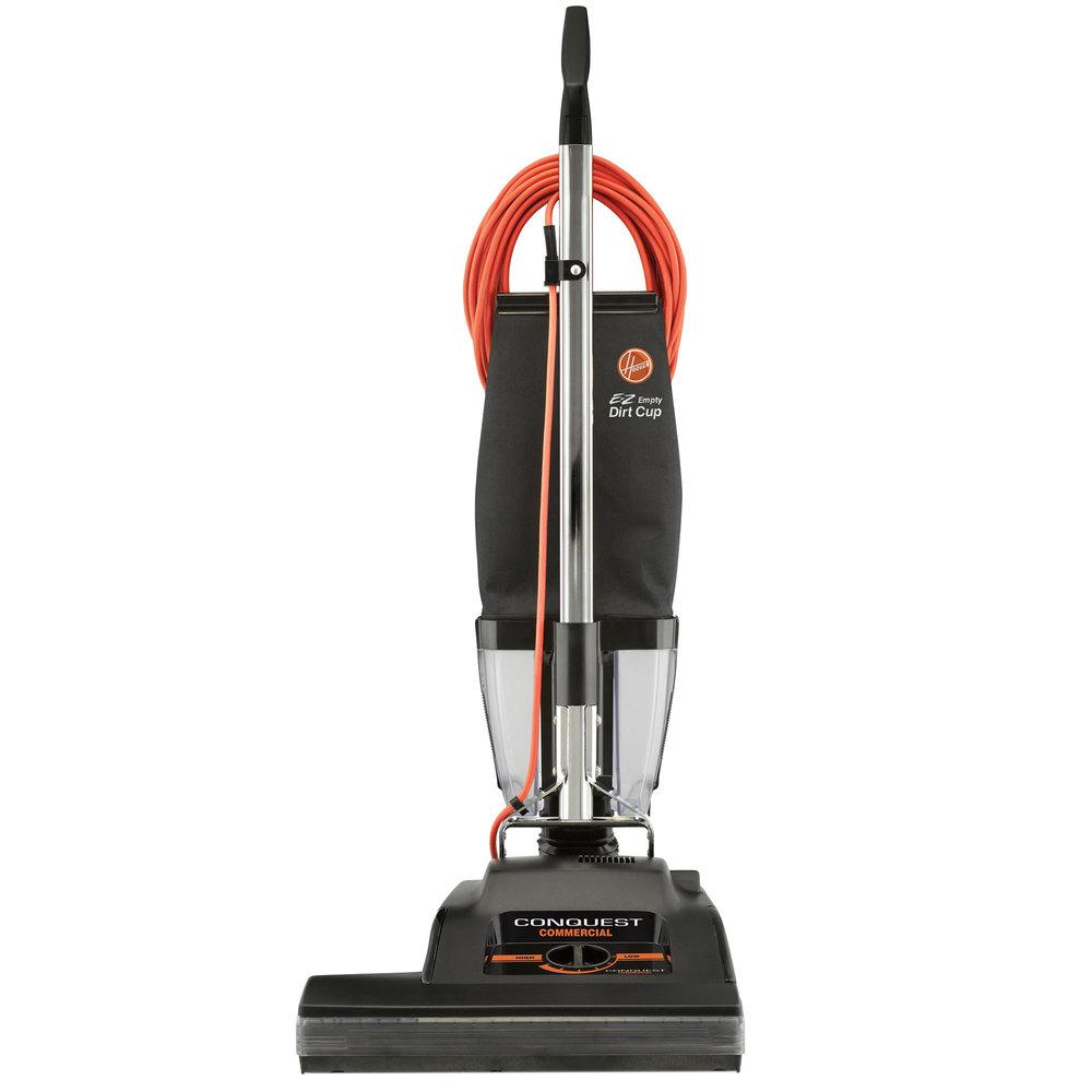 """Hoover C1810-010 18"""" Conquest Commercial Bagless Vacuum ... Vacuum"""