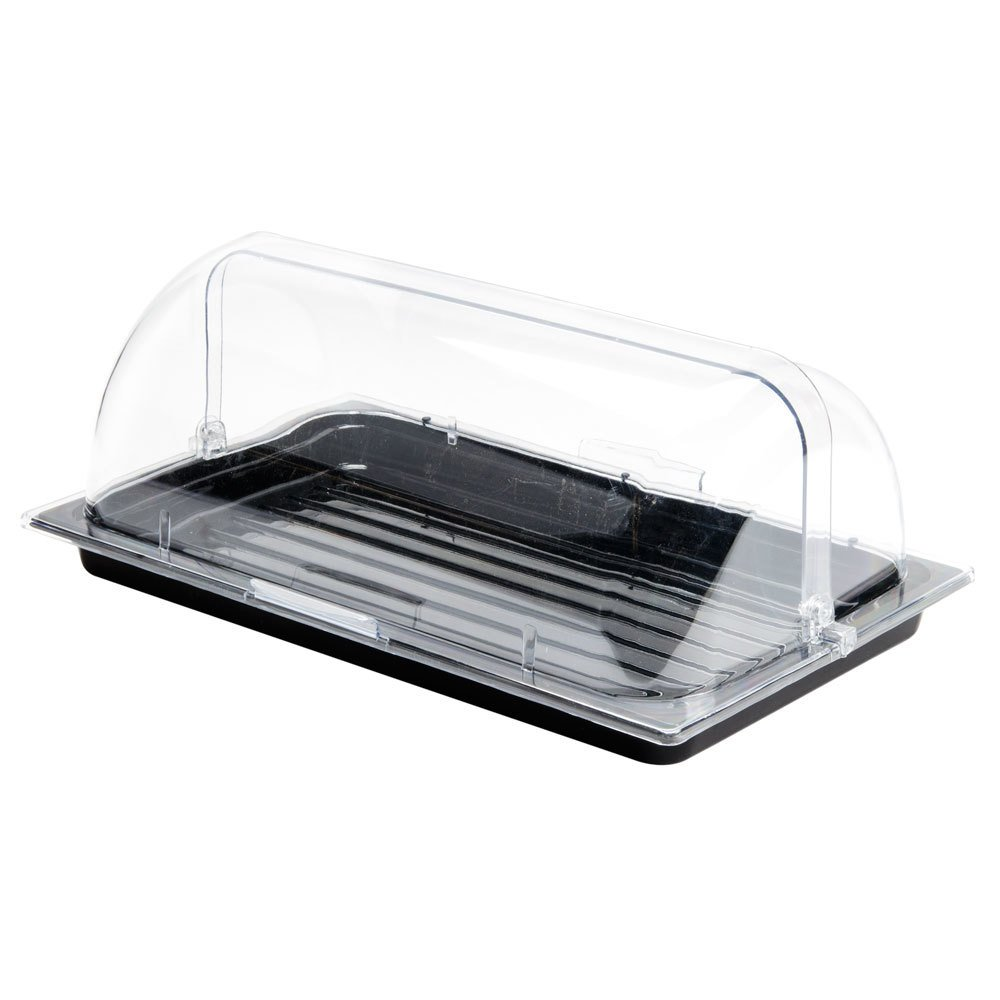 Sample And Display Tray Kit With Black Polycarbonate Tray