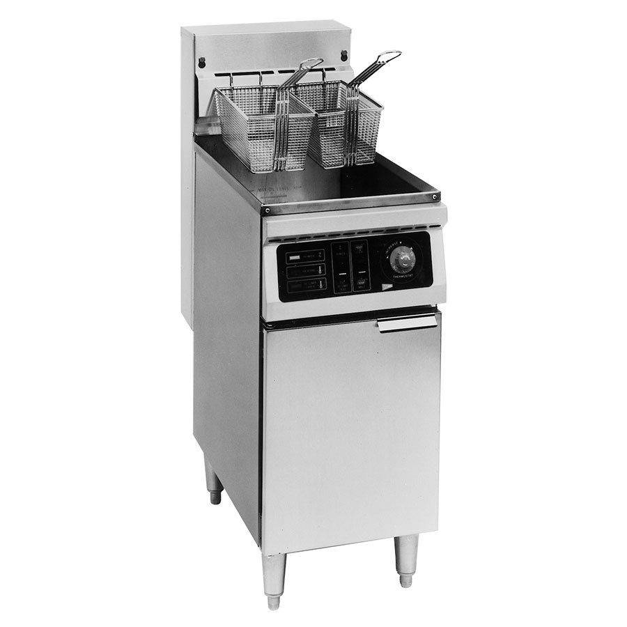 Cecilware EFP-40 Heavy Duty 40 lb. Electric Fryer - 18000W