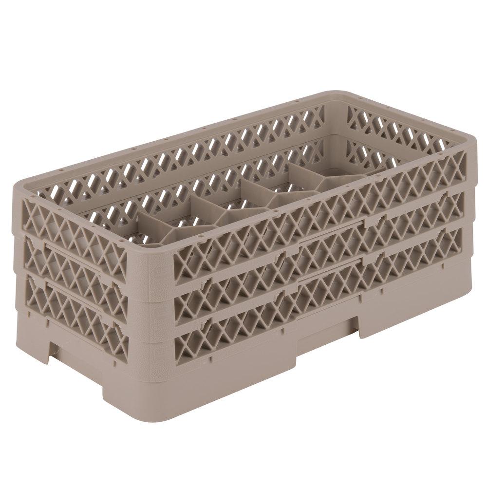 Vollrath Hr1ffa Traex Half Size Beige 17 Compartment 7 5