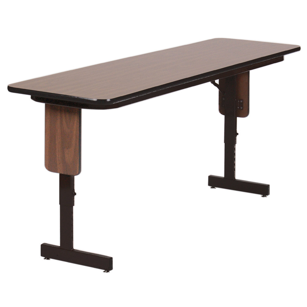 ... Adjustable Height Panel Leg Folding Seminar Table. Main Picture