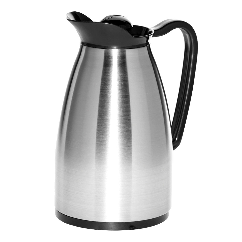 Coffee Maker Glass Lined Carafe : Service Ideas CGC060SS Classic Stainless Steel 0.6 Liter Glass Lined Carafe