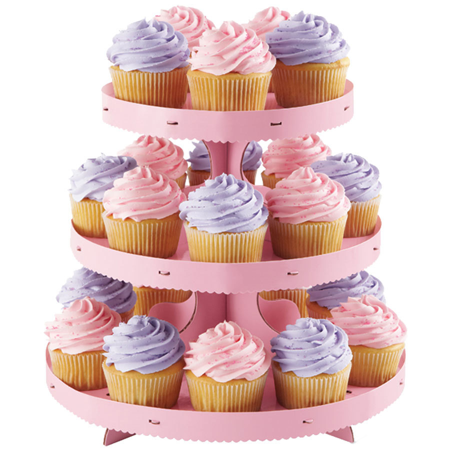 Pink  Tier Cake Stand