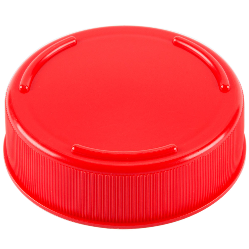 Tablecraft fcapr solid red end cap for inverted or