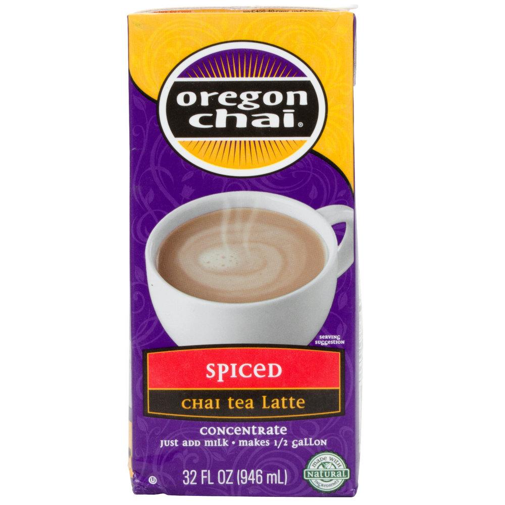 Oregon Chai Spiced Tea Latte Concentrate