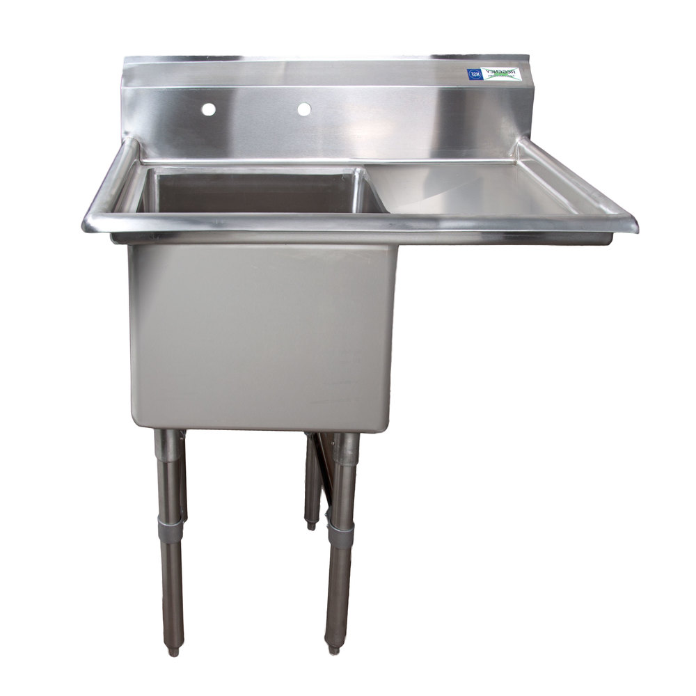 Right Drainboard Regency 38 1 2 Quot 16 Gauge Stainless Steel