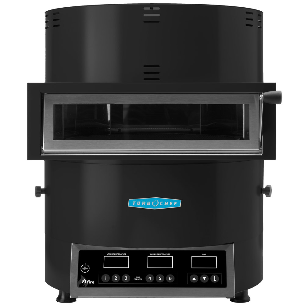 Commercial Countertop Pizza Oven Reviews : Turbochef Fire FRE-9500-5 Black Countertop Pizza Oven