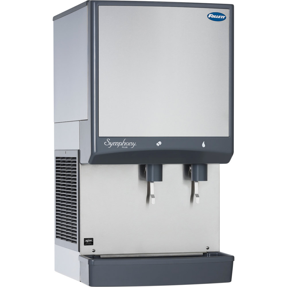 Follett 25CI425AL Symphony Countertop Air Cooled Ice Maker and
