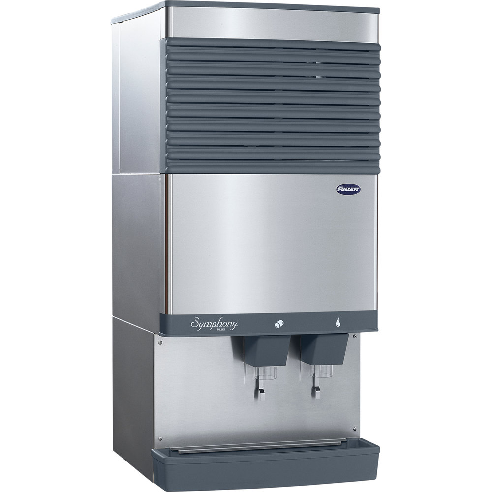 Kitchen Countertop Ice Maker : Follett 110CT425W-S Symphony Countertop Water Cooled Ice Maker and ...