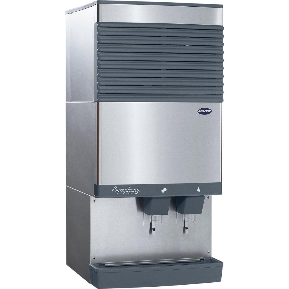 Follett 110ct425w L Symphony Plus Countertop Water Cooled