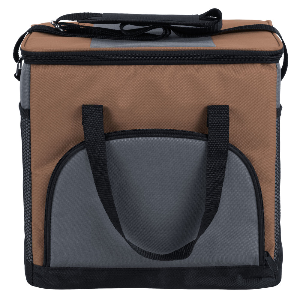 Choice Insulated Cooler Bag Soft Cooler Brown 12 Quot X 9
