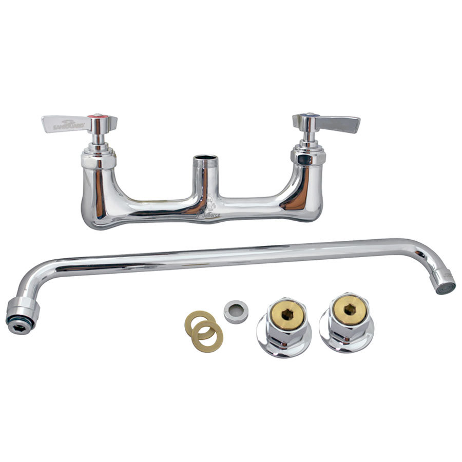 All Points 56-1553 Wall Mounted Heavy Duty Faucet; 8