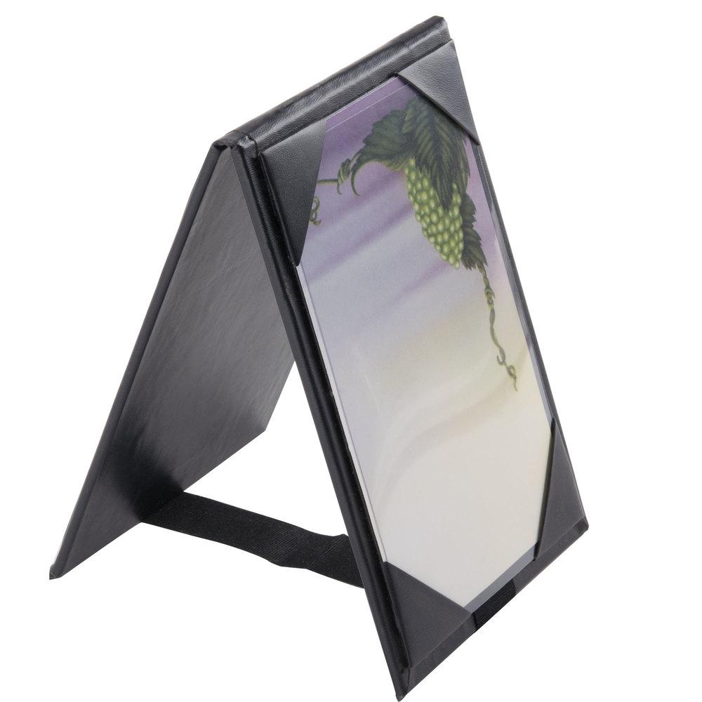 Menu Solutions Tt067a Blk 4 Quot X 6 Quot A Frame Two View Black