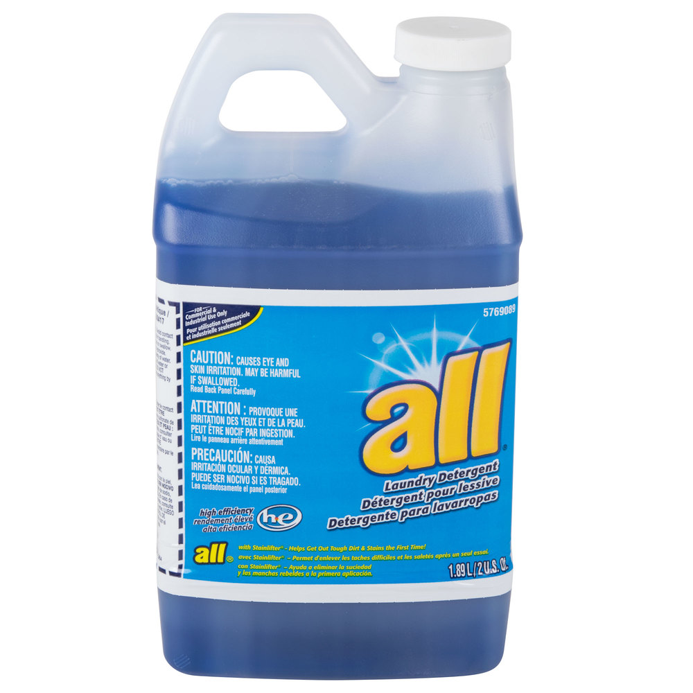 Diversey 95769089 64 Oz All High Efficiency Liquid