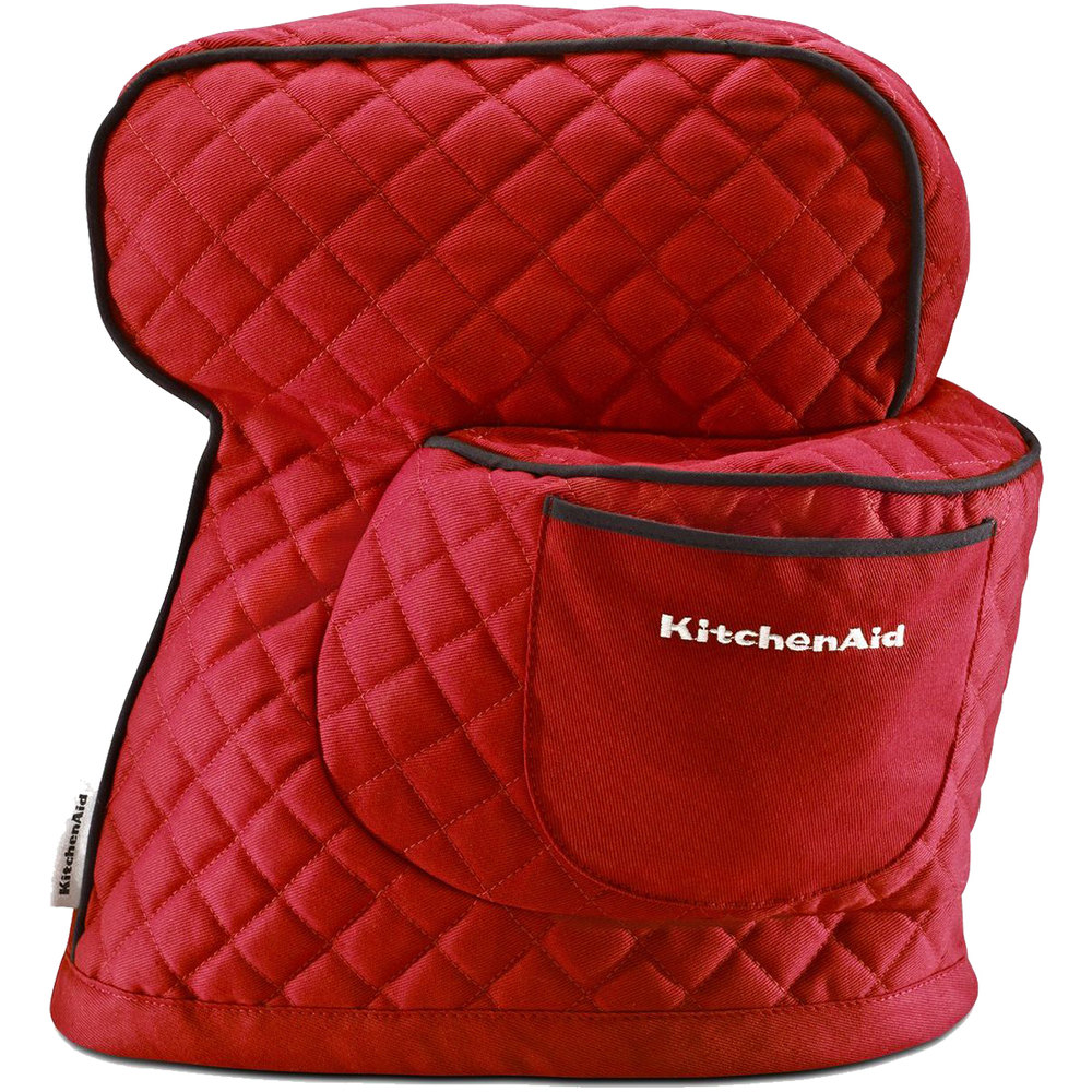 Kitchenaid Mixer Cover ~ kitchenaid ksmct1er empire red fitted cover for ksm tilt head stand mixers