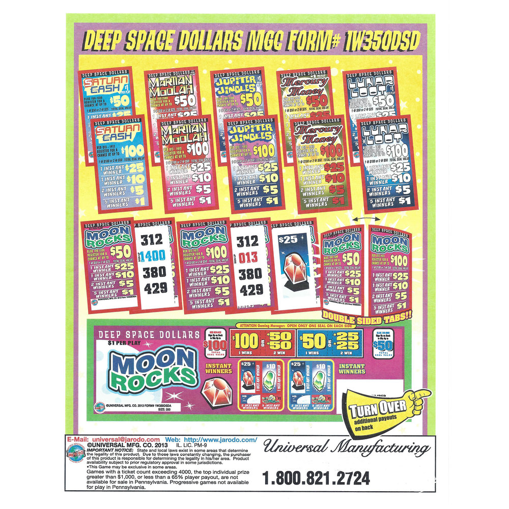 pull tab lottery ticket suppliers