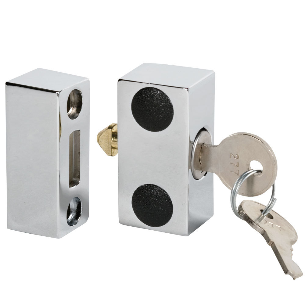 Beverage Air 401-226A Lock and (2) Keys for Select Back Bar Refrigerators, Kegerators, and Milk ...