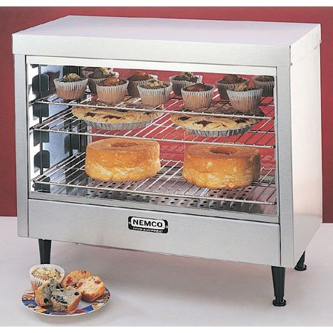 Nemco 6460 Heated Display Case Single Access - 28 inch
