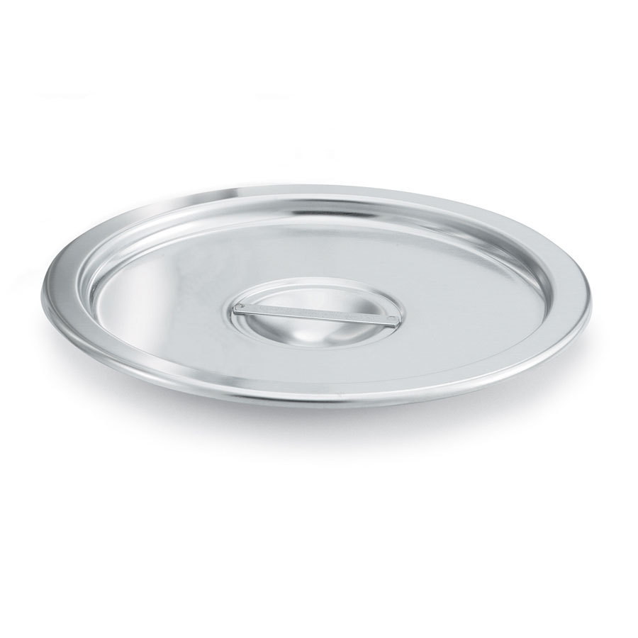"Vollrath 78672 13 1/8"" Stainless Steel Stock Pot Cover"