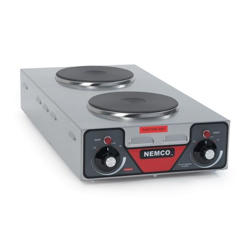 Nemco 240 Volts Nemco 6310-3 Electric Countertop Vertical Hot Plate with 2 Solid Burners at Sears.com